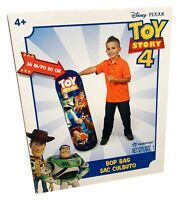 "Hedstrom Toy Story 4 36"" Bop Bag Fun Exercise Punching Kicking Woody Buzz Pixar"
