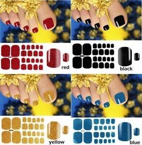 Color Street Nail Polish Strips Regular Wraps Sticker Glitter Full Flower Solid