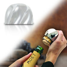 Perfect Pop Champagne Opener -new Chrome removes the foil, cork and wire ^l^x
