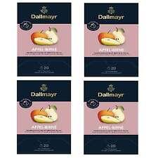 Dallmayr Tee Pyramide Apfel - Birnen Tee 4 x 20 Pyramiden x 3,5g