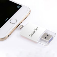 Lightning Apple External Reader Micro SD TF Memory Card For iPhone X 8 6s 7 iPad