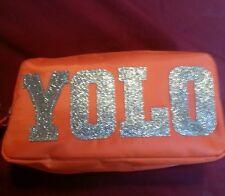Orange YOLO Pencil Pouches