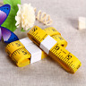 Soft Measuring Tape Cloth Body Ruler Tailor Measure Seamstress Sewing Flat 3M