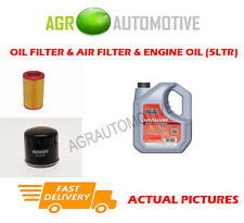 PETROL OIL AIR FILTER KIT + FS 5W40 OIL FOR ALFA ROMEO 156 1.8 140 BHP 1997-05