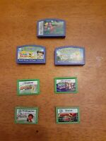 Leap Frog Explorer & Leapster Learning Game Cartridges Lot of 7