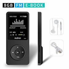 Mp3 Music Player Fm Radio Touchscreen Max Support 128 Gb Micro Sd Card - New