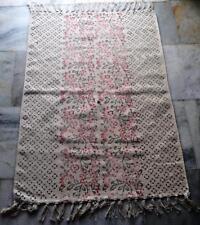 Stunning Moroccan Rug Handmade Berber Beni Ourain Genuine Rug Cotton