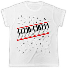 MICHAEL JACKSON PIANO MUSIC BEAT IT BIRTHDAY PRESENT IDEAL GIFT UNISEX TSHIRT