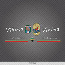 """01334 Viking The """"Hosteller"""" Model Bicycle Stickers - Decals - Transfer"""