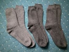 Set of 3 Pairs Mens Thick Wool Socks