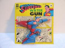 1967 SUPERMAN WATER SQUIRT GUN BY MULTIPLE TOYMAKERS MPC TOYS MINT ON CARD