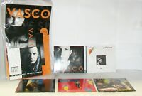 VASCO ROSSI LEGEND 6 ALBUM + COFANETTO BOX SET 6 CD MUSICALI NUOVI SIGILLATI NEW