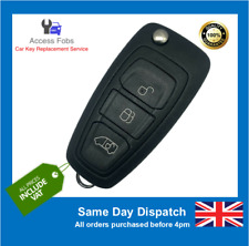 NEW Ford Transit & Ford Custom Flip Remote Key Fob (2014-16) (F12)