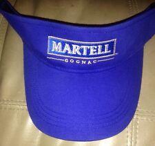 Lmtd.  Edition.. Martell Cognac Embroidered Adjustable Visor. Royal Blue.. New