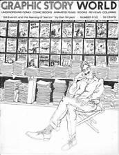 Comics fanzine GRAPHIC STORY WORLD #5 (1972) Bill Everett, MOEBIUS, Roger Brand