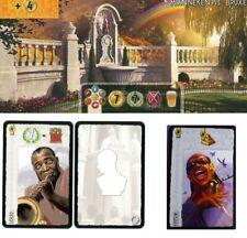 7 Wonders spielbox mini expansions: manneken pis, Stevie Wonder, Louis Armstrong