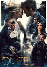 "076 Once Upon A Time - Fairy Tale Emma Season 1 2 3 4 5 USA TV 14""x20"" Poster"