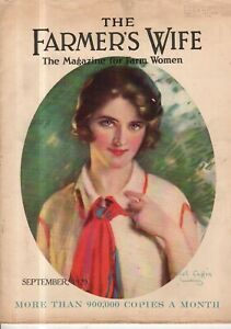 1929 Farmer's Wife September - Haskell Coffin; Canada, Michigan, Japan Farms