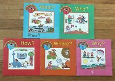 Lot 5 A Discovery Toys Question Book  Who? What? Why? How? Where?