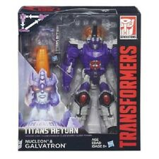 NEW HASBRO TRANSFORMERS TITANS RETURN NUCLEON & GALVATRON B6460