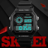 SKMEI Sports Sveglia Digitale Orologi Bracciale Luminoso Impermeabile lot bu