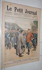 PETIT JOURNAL 1904 COURSE AUTO GORDON-BENNETT THERY VAINQUEUR / FETE DES ECOLES