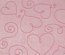 "Pink Suede Heart 8X8"" Scrapbook Album - Crafty Koala"