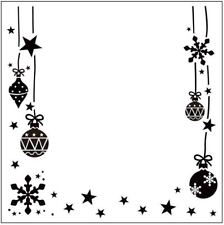 * PORTA CRAFT * Embossing Folders Square (140*140mm) Christmas Ornaments