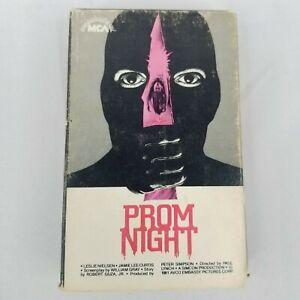 Prom Night Horror Betamax Tape (Not VHS) Jamie Lee Curtis 1981