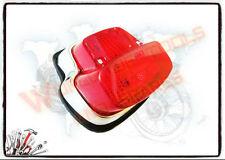 Vintage Vespa Rear/Brake/Tail Light Assembly With Bulbs (Lowest Price)-@-UK