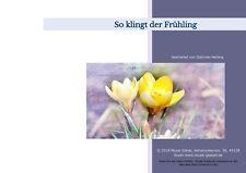 """Notenmappe für die Veeh-Harfe / Tischharfe 25-saitig """"So klingt der Frühling"""""""