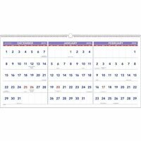 """2020 AT-A-GLANCE 24"""" x 12"""" 3-Month Reference Horizontal Wall Calendar 24345852"""