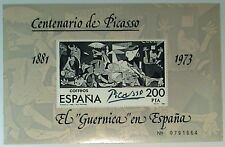 Spain 1981 Centenary of Pablo Picasso Numbered Souvenir Sheet Unused SC 2252 |