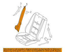FORD OEM Front Seat Belt-Assy Left AE5Z54611B09AD