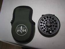 vintage youngs shakespeare 2864 multiplier speedex fly fishing reel & pouch