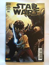 PANINI COMICS MARVEL STAR WARS 5 005 JANV 2016 COVER 1/2 AARON IMMONEN NEUF