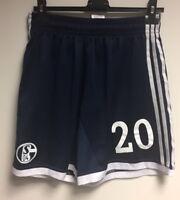 FC Schalke 04 - S04 Spielershort Short 2013 matchworn - Chinedu Obasi 20