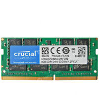 Crucial 8GB PC4-2400T-S ddr4 2400MHz 260Pin 1.2V Unbuffered SODIMM Laptop Memory