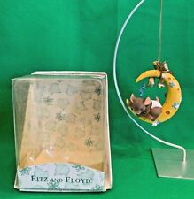 Mouse on the Moon Ornament Charming Tails 86155 Fitz Floyd Griff baby mouse
