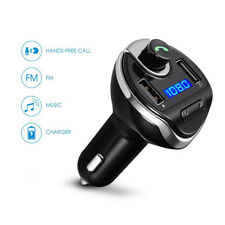 Car Bluetooth FM Transmitter MP3 Player Hands free Radio Adapter 2 USB Charger