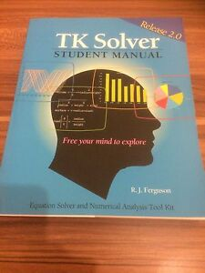 TK Solver Manual User Guide
