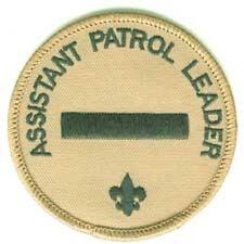 BSA Assistant Patrol Leader Position Patch   B00002