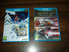 Lot of 2 Wii U PAL games Finding Teddy II + SHMUP Collection Limited Edition NEW