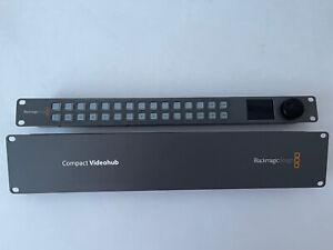 blackmagic videohub 40x40 Compact 3G HD SDI with Control Panel
