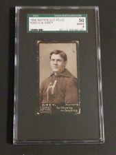 1894 Mayo's Cut Plug N302 G. A. GREY SGC 50 VG/EX 4 Harvard Football Card