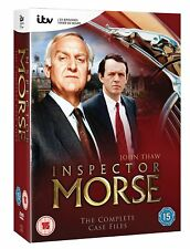 INSPECTOR MORSE - The Complete Case Files  DVD - 18 Disc Set ( REG 2 ) ( NEW )