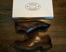 77084eaa60e Steve Madden Leather Upper Men s Dress Shoes 8.5 Men s US Shoe Size ...