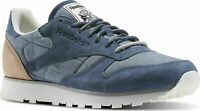 Reebok Classic CL Leather Fleck Sizes 4-8 Blue RRP £70 BNIB AQ9722