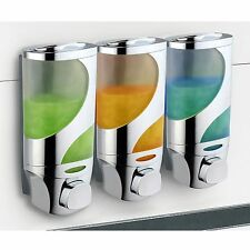 HotelSpaWave Luxury Soap/shampoo/lotion Modular-design Shower Dispenser Syste...