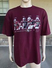 NWT Vintage San Francisco 49ers Jerry Rice T Shirt Joy Athletic Size XL NFL